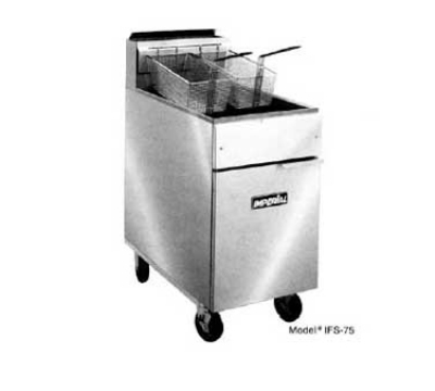 Imperial IFS-75-E 240 Electric Fryer - (1) 50-lb Vat, Floor Model, 240v/3ph