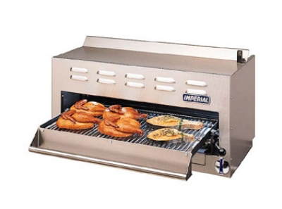 Imperial ISB-36 LP 36-in Salamander Broiler w/ Pull Out Rack, LP