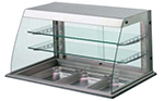 Piper Products 31819 220 Refrigerated Display Case w/ 3-Tiers & (5) 12x20-in Pan Capacity, 220/1V