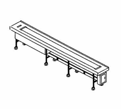 Piper Products FABRIC-16 16-ft Conveyor Tray