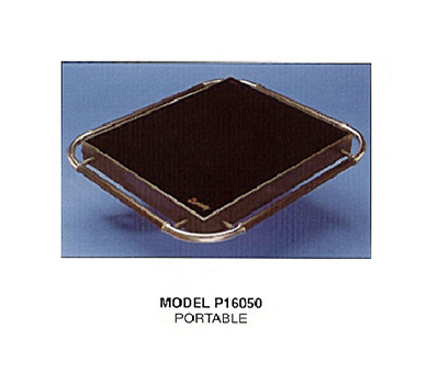 Piper Products P16050-HS 29.5-in Portable Hot Plate w/ Single Section & Hot Spot,