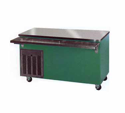 Piper Products R2-HT 7000 36-in Mobile Hot Top Serving Counter w/ Enclosed Base, Modular, Gray