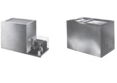 Piper Products RF11-BI(DUAL) Remote Ice Cream Milk Dispenser w/ 180-Carton Capacity, Built In