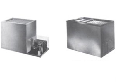 Piper Products RF21-BI(DUAL) Remote Ice Cream Milk Dispenser w/ 405-Carton Capacity, Built In