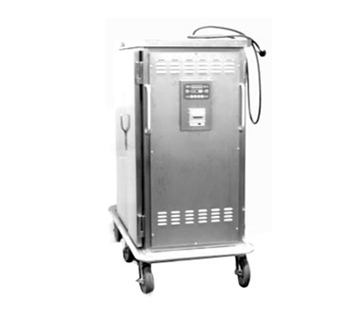 Piper Products ST-32-H 2-Door Heated Meal Delivery Cart w/32-Plate Capacity