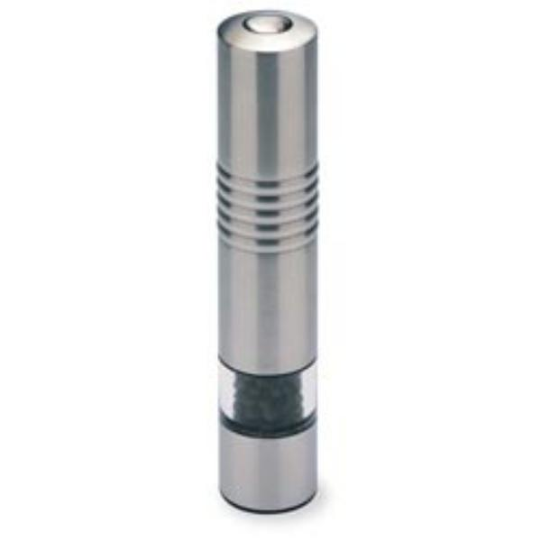 Olde Thompson 30040000 Peppermill, Slim Line, Electric, Brushed Stainless Steel, 7-3/4 in