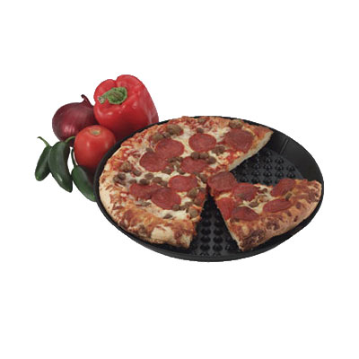 HS Inc HS1034 Pizza Pleezer, 18in Diam x 1in Deep, Keeps Pizza High &