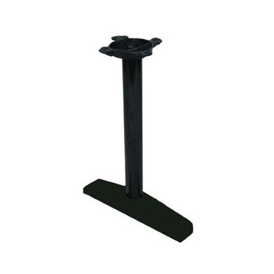 "John Boos 2065B3 22"" Table Base for 120-144"" Tops - 10"" Spider Size, 28"" H, Cast Iron"