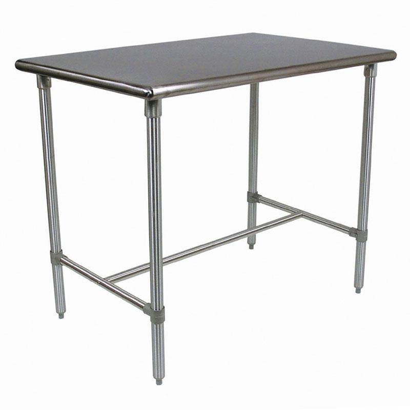 John Boos BBSS4824 Cucina Americana Classico Table, Stainless, 48 x 24 x 36-in H