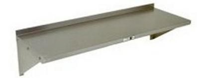 John Boos BHS1272 Stainless Steel Wall Shelf 1.5-in Backsplash 12 x 72-in Restaurant Supply