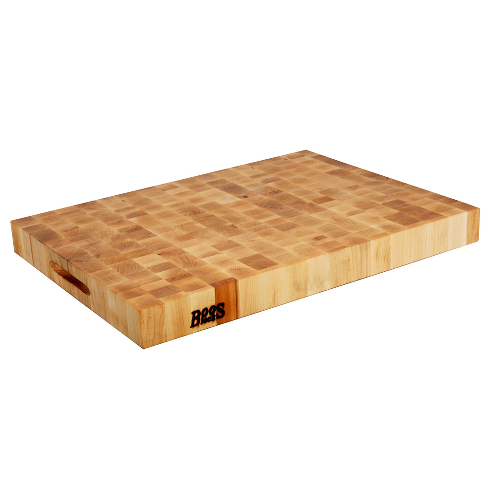 John Boos CCB2418-225 Chinese Chopping Block, 24x18x2.25-in, H