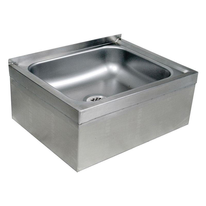 John Boos EMS-2016-12 25-in Mop Sink w/ 20 x 16 x 12-in Bowl, 16-ga Stainless