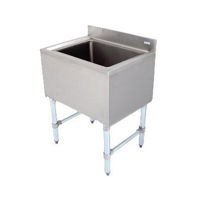 John Boos EUBIB-12-4821 Underbar Insulated Ice Bin w/ Galvanized Legs, 48 x 21-in