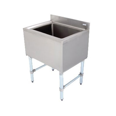 John Boos EUBIB-4818 Underbar Ice Bin - Insulated with Drain, 48x18x30&q