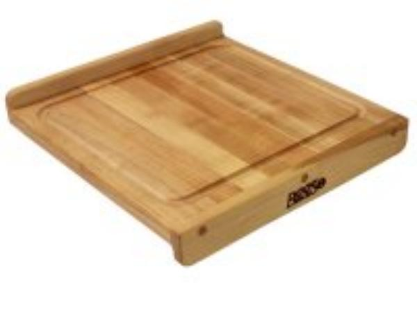 John Boos KNEB24S Countertop Kneading Board, Maple, Grooved, 23-3/4 in Square, 1-1/4 in Thick