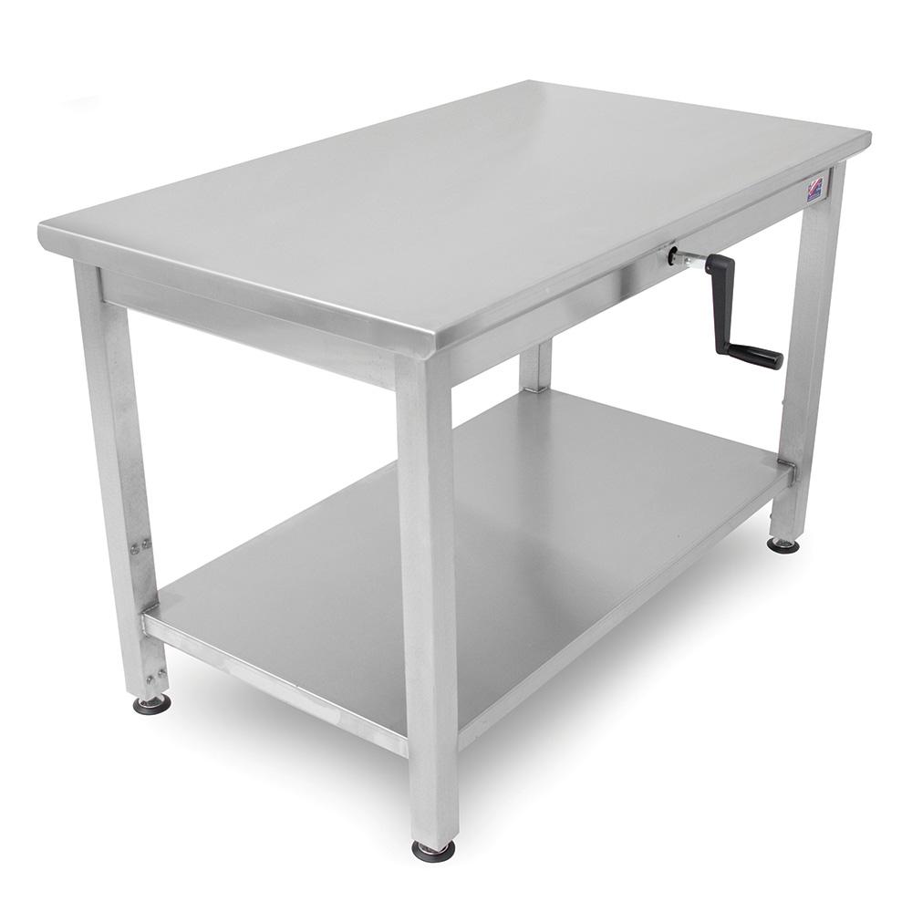 John Boos LT6-3048SSW Adjustable Table - Ergon
