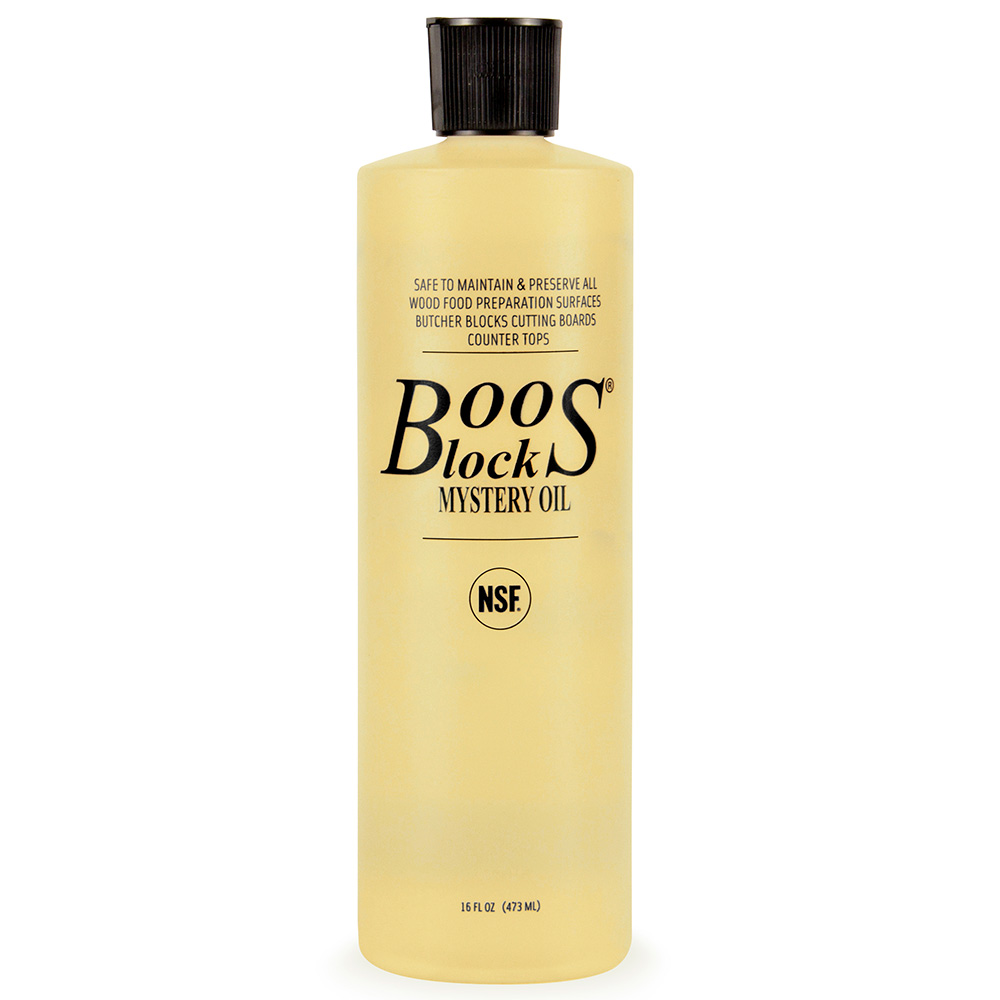 John Boos MYS3 Boos Mystery Oil, 15 oz, NSF, for Oiled Finish Wood Tops