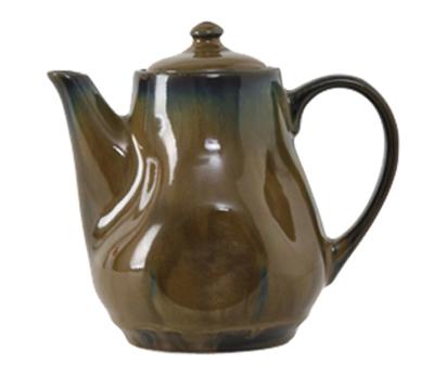 Tuxton GAJ-101 17-oz Ceramic Teapot with Lid - Mojave