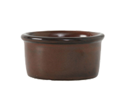 Tuxton GAR-752 2-1/2-oz Ceramic Ramekin - Red Rock