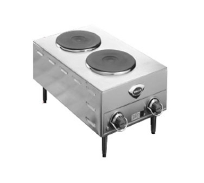 Wells H-70 220240 Hot Plate w/ Two Solid Cast-Iron Elements, Export