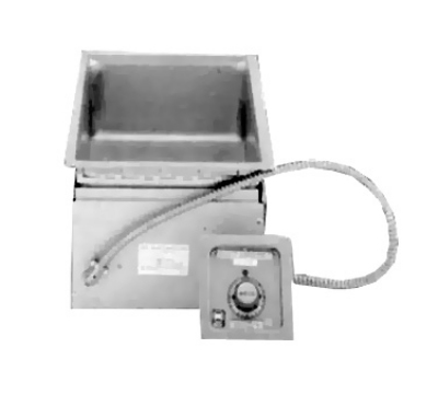 Wells MOD100D 1-Pan Built In Food Warmer w/ Infinite Controls, Drain, 208/240/1 V