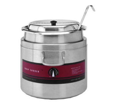 Wells SC6411WA Deluxe Round Package Soup Cooker & Warmer, 11-qt
