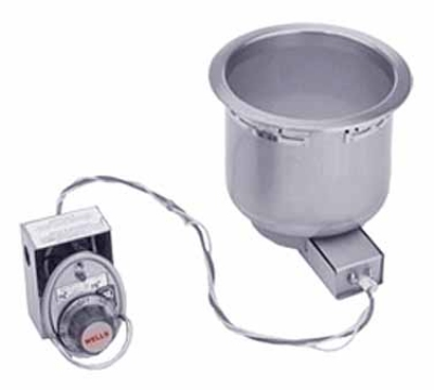 Wells SS-8D 120 7-qt Built In Food Warmer w/ Drain, 120 V