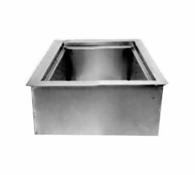 Wells ICP-100 Drop In Iced Cold Pan w/ Drain, Holds 1-Pan, Insulated