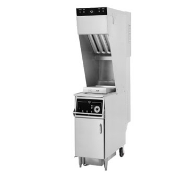 Wells WVAE-30F 208 30-lb Ventless Fryer, Basket Lift, Timer, Built In Oil Filter, 208/3