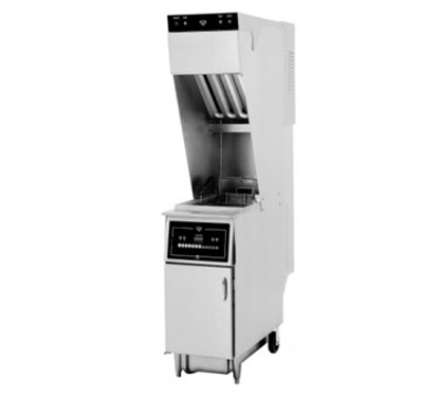 Wells WVAE-55FS 208 55-lb Ventless Fryer, Basket Lift, Oil Filter, Solid State Controls, 208/3