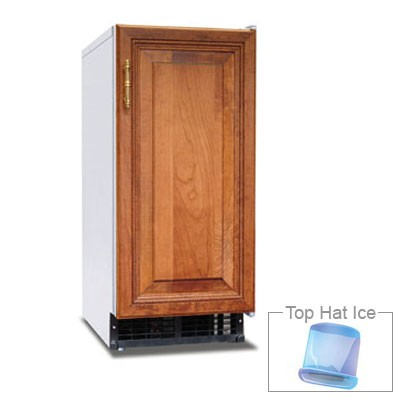 Hoshizaki AM-50BAE-DS Undercounter Ice Maker - 55-lb/24-hr, 22-lb Storage, Full Cube, Unfinished
