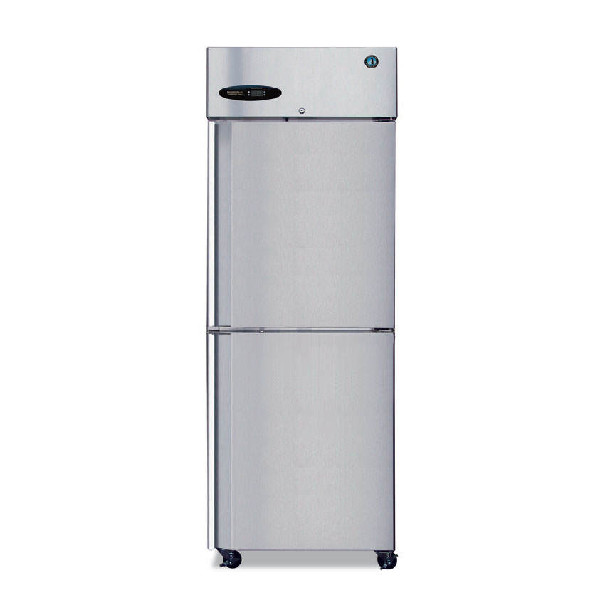 Hoshizaki CF1B-HS Reach-In Freezer w/ 2-Solid Half Doors, Stainless, 23.3-cu ft