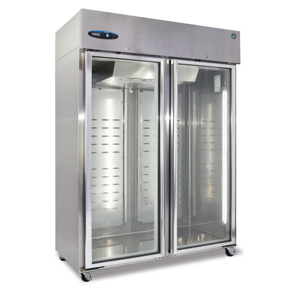 Hoshizaki CF2B-FG Reach-In Freezer w/ Glass Door, Stainless, 51-cu ft