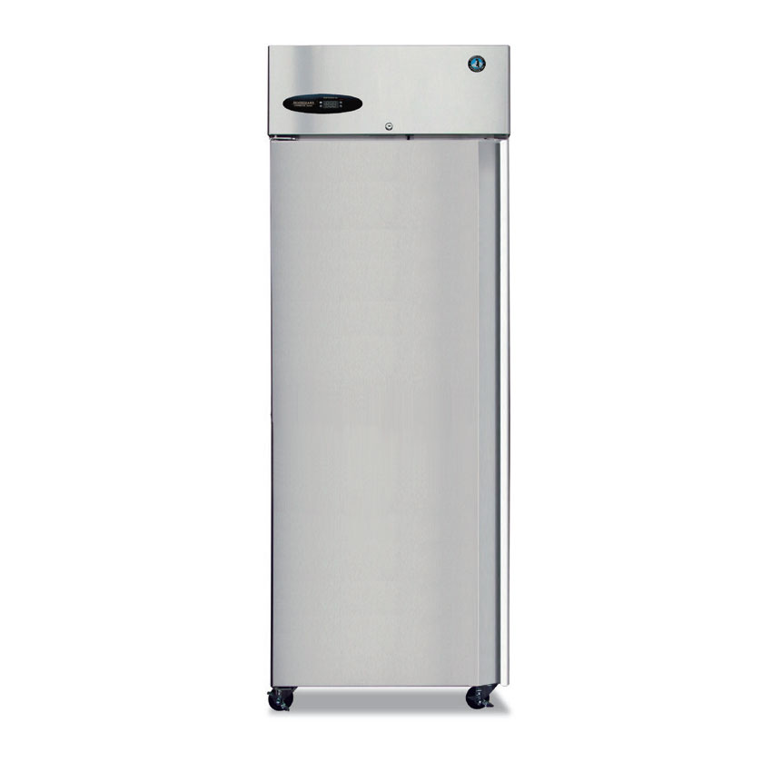 "Hoshizaki CR1B-FSL 27.5"" Single Section Reach-In Refrigerator, Solid Door, 115v"