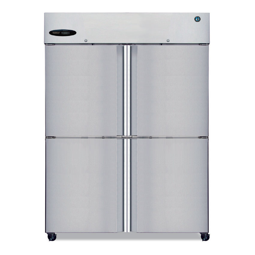Hoshizaki CF2B-HS Reach-In Freezer w/ 4-Solid Half Doors, Stainless, 51-cu ft