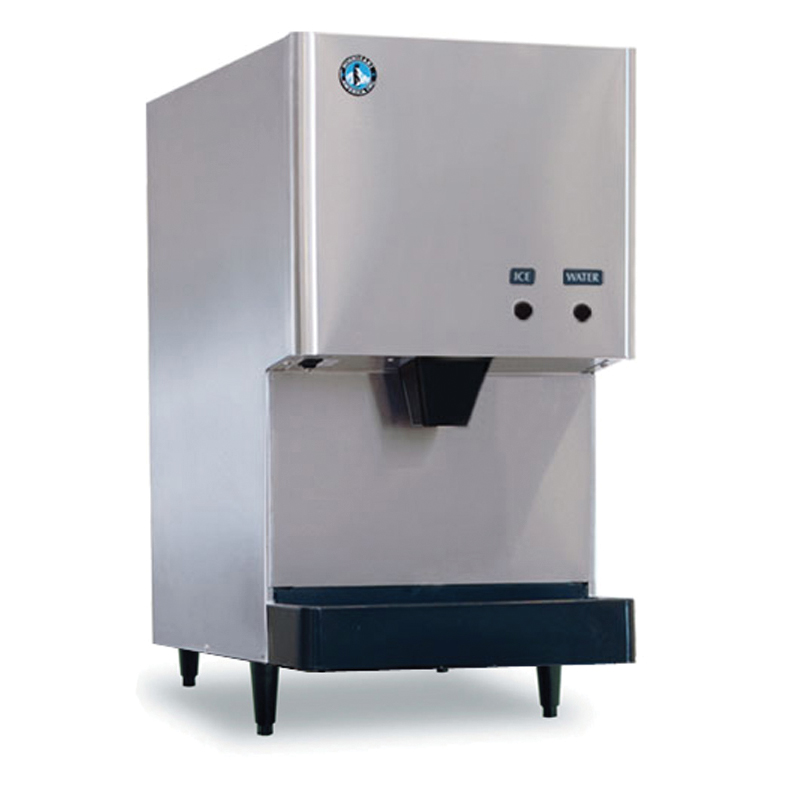 Hoshizaki DCM-270BAH Cubelet-Style Ice Maker Water Dispenser w/ 282-lb Production, Stainless