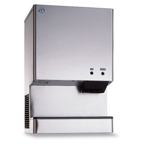 Hoshizaki DCM-300BAH Cubelet-Style Ice Maker Water Dispenser w/ 321-lb Production, Stainless