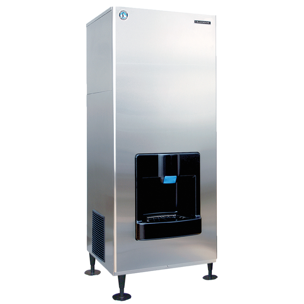 Hoshizaki DKM-500BAH Crescent-Style Ice Maker/Dispenser - 466-lb Production, Stainless