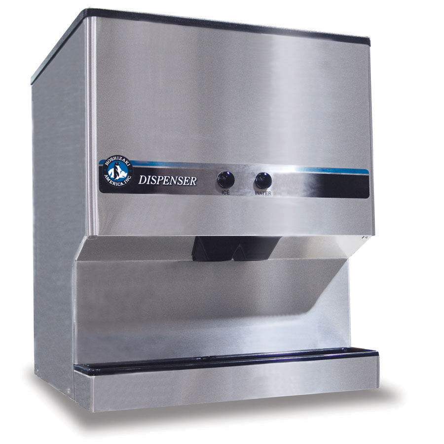 Hoshizaki DM-200B Ice & Water Dispenser for KM320, 515, 600 w/ 7.5-lb/min Capacity, Stainless