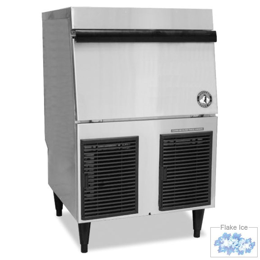 Hoshizaki F-330BAH Low Volume Flake Undercounter Ice Maker - Air Cooled, 115v