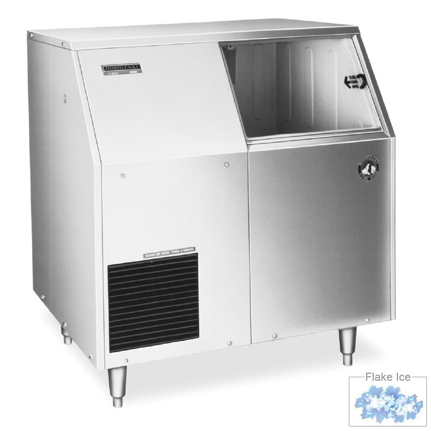 Hoshizaki F-500BAF Flake-Style Ice Maker w/ 501-lb Production, Air-Cool, Stainless