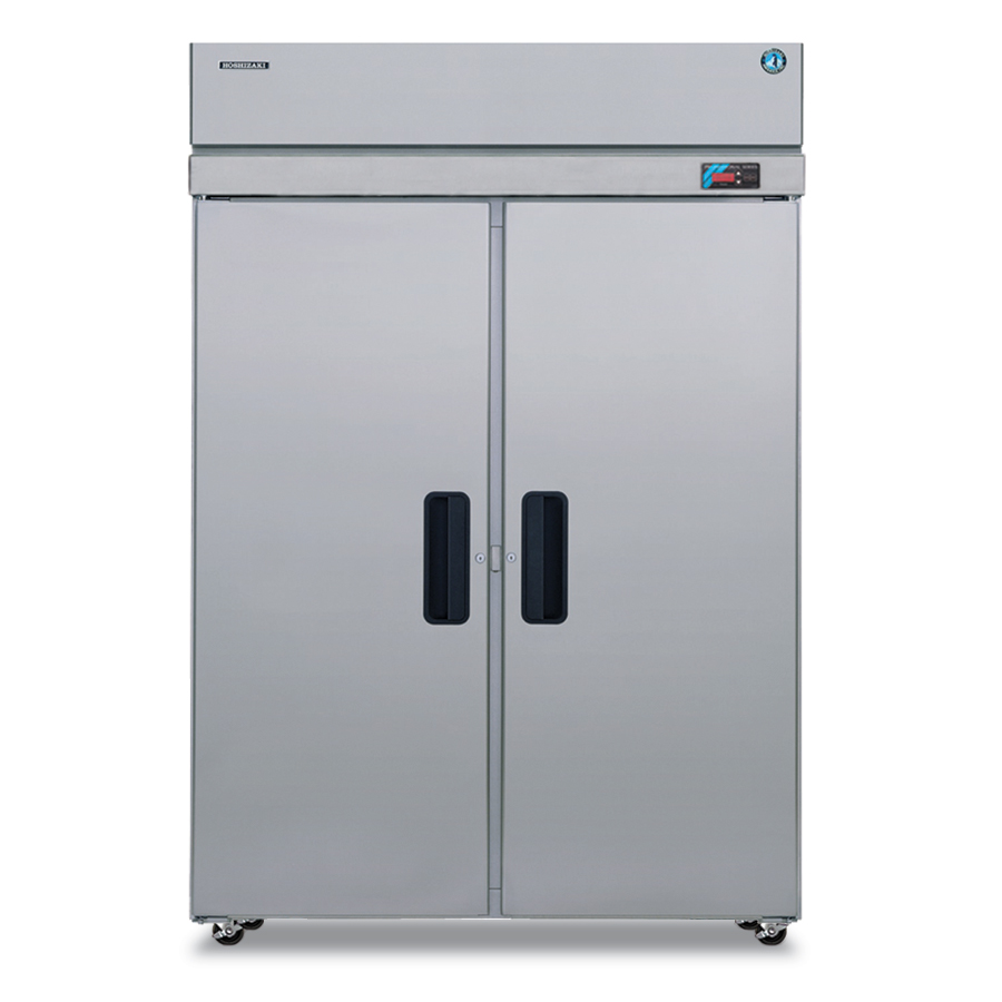 Hoshizaki FH2-SSB Reach-In Freezer w/ 2-Sections & Full-Hinged Doors, Stainless