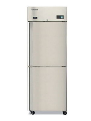 Hoshizaki CR1B-HS Reach-In Refrigerator w/ 2-Solid Half Doors, Stainless, 23.3-cu ft