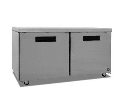 Hoshizaki CRMR60 17.55-cu ft Reach In Undercounter Refrigerator w/ 2-Sections & Self