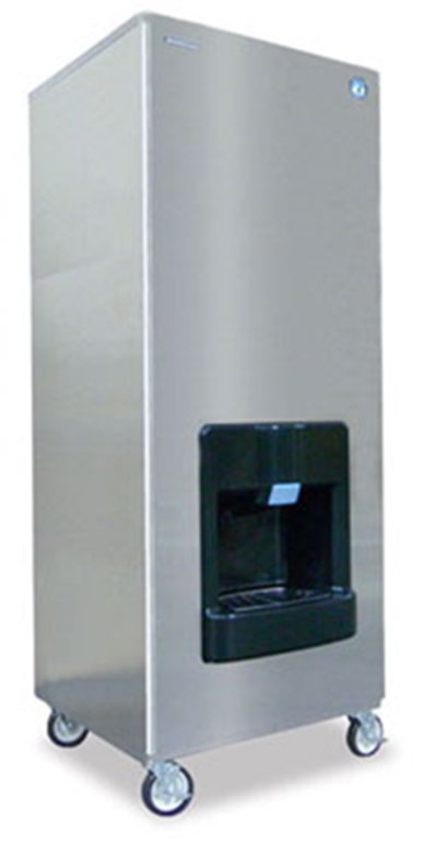 Hoshizaki DKM-500BWH Crescent-Style Ice Maker Water Dispenser w/ 455-lb Production, Stainless