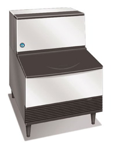 Hoshizaki KM-260BWH Crescent-Style Ice Maker w/ 268-lb Production & Bin, Water-Cool, Stainless
