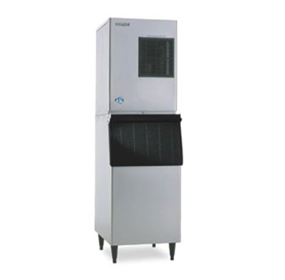 Hoshizaki KM-320MAH-E Crescent Style Ice Maker w/ 133-kg Production, Air Cool, Stainless, Export