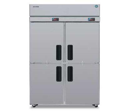 Hoshizaki RFH2-SSB-HD 44.6-cu ft Two Section Commercial Refrigerator Freezer - Solid Doors, Top Compressor, 115v