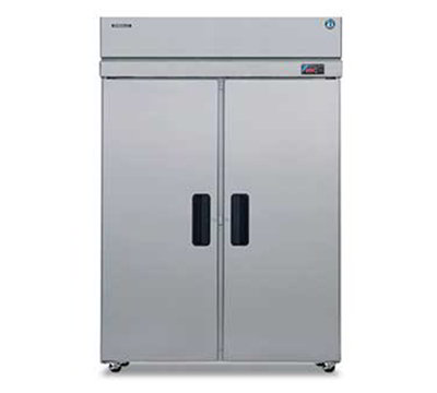 Hoshizaki RH2-SSE-FS Reach-In Refrigerator w/ 2-Full Solid Doors, Stainless