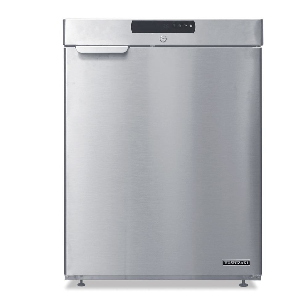 Hoshizaki HR24A Undercounter Refrigerator w/ 1-Section & Solid Door, 4-cu ft
